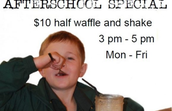 Margs Cafe – After School Waffle Special